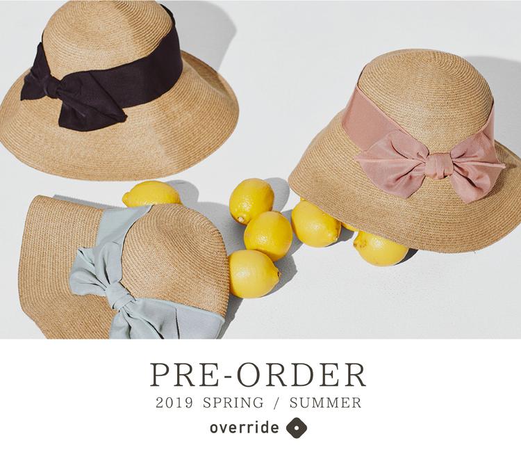 2019 spring & summer collection pre order