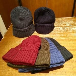 ニット帽1