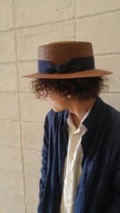 カンカン帽 わたし