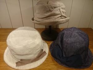 1洗える帽子