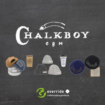 [9/15発売] Chalkboy & override