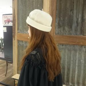 2ファッジ帽